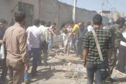 انفجار أسوانة غاز فى مدينة قم الايرانية