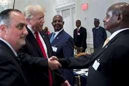 ترامب مع الزعماء الافارقة