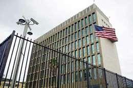 السفارة الامريكية  فى هافانا