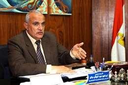 الدكتور ابراهيم سالم  القائم بأعمال رئيس جامعة طنطا