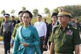 رئيسة بورما
