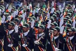 أفراد من الحرس الثورى الإيرانى