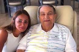 صورة مبارك التي أثارت جدلا