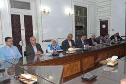 محافظ المنيا ورئيس الجمعة
