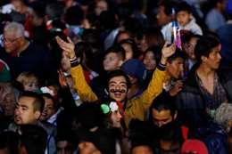 بالصور.. المكسيك تحتفل بذكري استقلالها