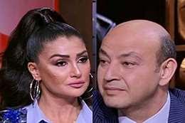 غادة عبد الرازق وعمرو أديب