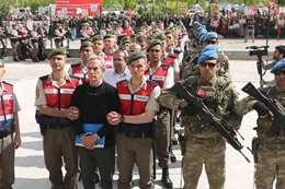 اعتقال عشرات العسكريين الأتراك - أرشيفية