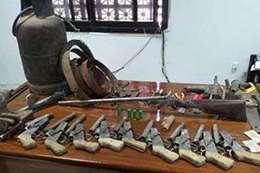 ورشة اسلحة بالمنيا
