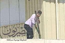 صور هروب الطلاب .من المدارس