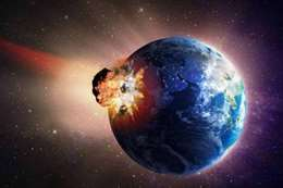 «ناسا» تحذر: جسم فضائي عملاق قد يدمر الأرض غدًا