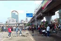 تفجير استهدف تجمعًا جماهيرًا، حضره رئيس الوزراء الإثيوبي