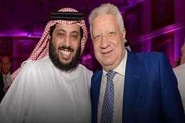 تركي ال الشيخ ومرتضى منصور