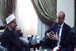 السفير الهولندى بالقاهرة لورنس ويستهوف