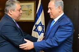 السفير المصؤي في إسرائيل حازم خيرت