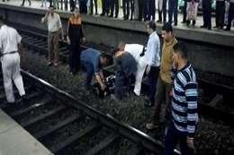 حالة انتحار تحت عجلات المترو