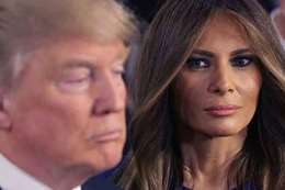 ميلانيا و ترامب