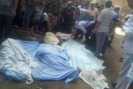 ضحايا حادث محور صفط اللبن