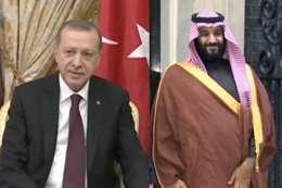 أردوغان وبن سلمان
