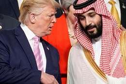 ولي العهد والرئيس الأمريكي دونالد ترامب
