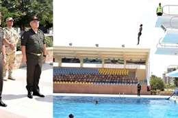 وزير الدفاع يتفقد إجراءات القبول بالكليات العسكرية