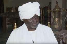 علي الحاج أمين عام حزب المؤتمر الشعبي في السودان
