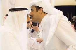 الملك سلمان وأمير قطر