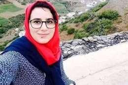 الصحفية المغربية
