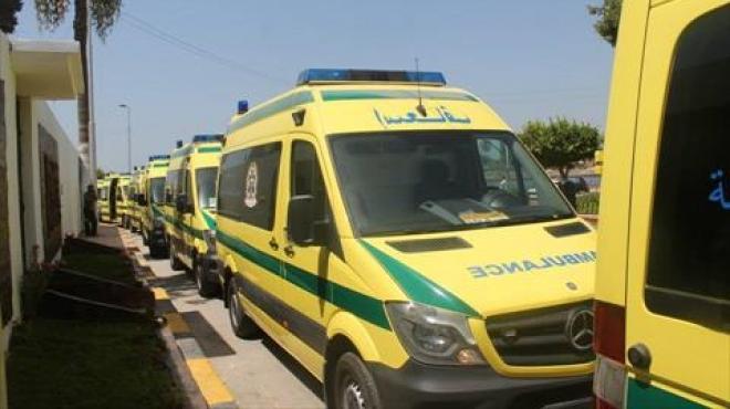 95 سيارة إسعاف لتأمين احتفالات الميلاد بكفر الشيخ