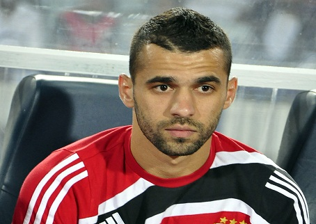 عبدالله السعيد يغيب أمام الداخلية في كأس مصر