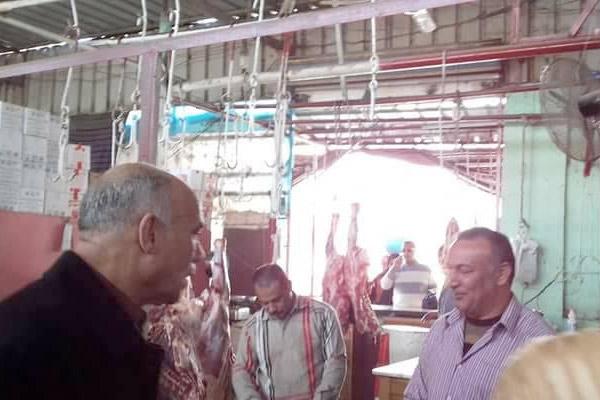 بالصور.. رئيس مدينة سمنود: 70 جنيهًا كيلو لحوم المعارض