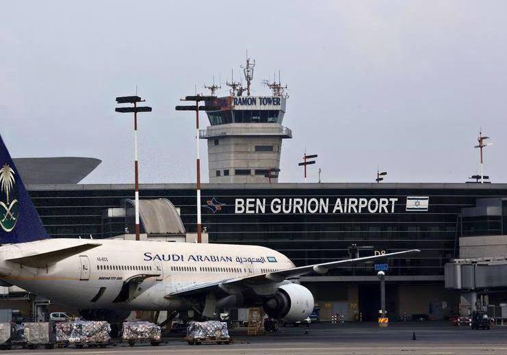 """إخلاء مطار """"بن جوريون الإسرئيلى"""""""