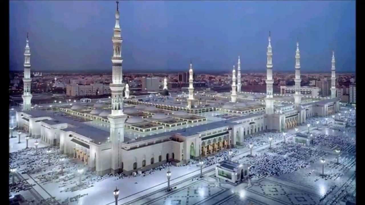 لمبات المسجد النبوي تسقط!