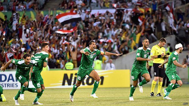 """""""داعش"""" يمنع الاحتفال بفوز المنتخب العراقي بأمم آسيا"""