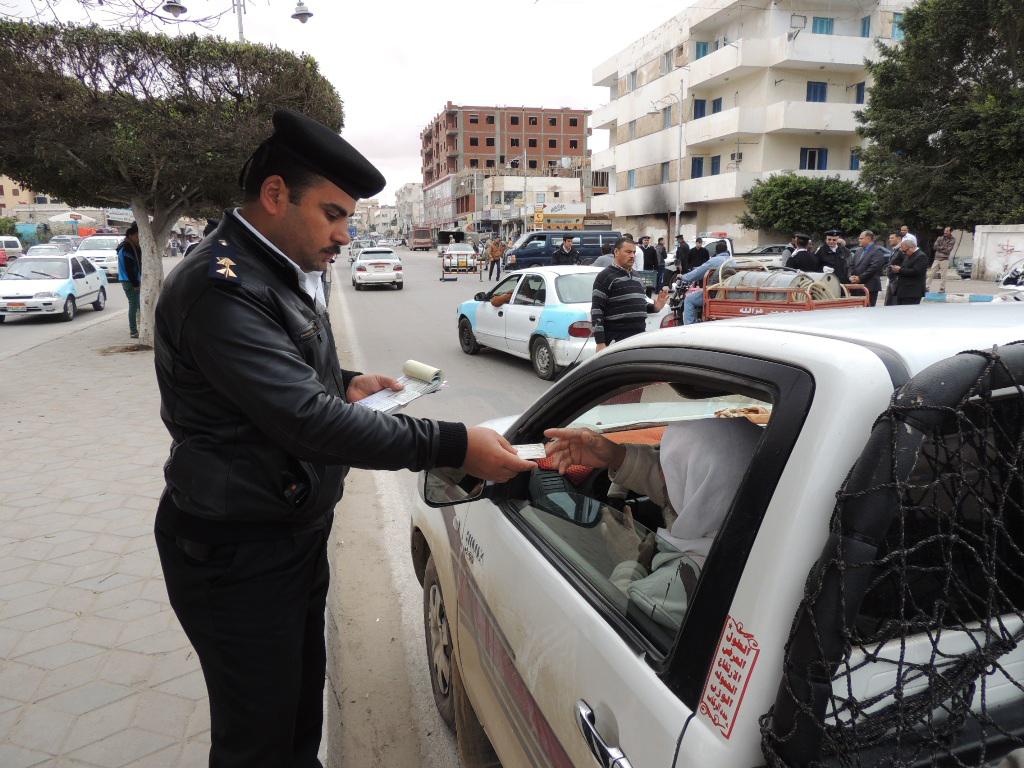 حملات مرورية  للكشف على متعاطي المخدرات أثناء القيادة