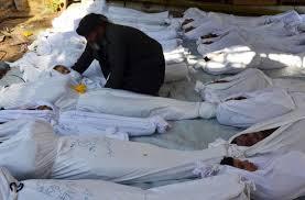 """عرب في واشنطن يحيون ذكرى الهجوم الكيميائي على """"غوطة"""" دمشق"""