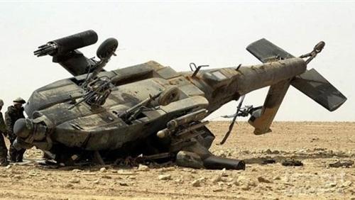 مقتل وإصابة 14 عسكريا بعد تحطم مروحية للجيش