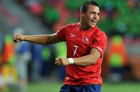 فيديو.. سانشيز يتقدم لتشيلي بالهدف الأول