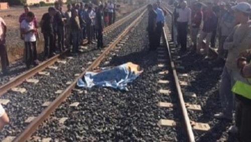 قطار يدهس عاملاً أثناء عبوره السكة الحديد بالمنوفية