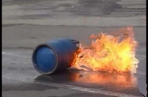 انفجار اسطوانة غاز فى حى سكنى بمدينة نصر