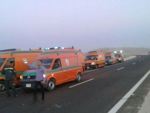 إصابة شخصين في انقلاب سيارة ملاكي بالزعفرانة