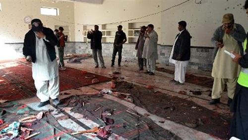 ارتفاع حصيلة  ضحايا انفجار مسجد شيعي بباكستان