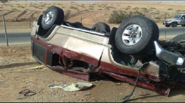 مصرع وإصابة 3 أشخاص في حادث سير بسوهاج