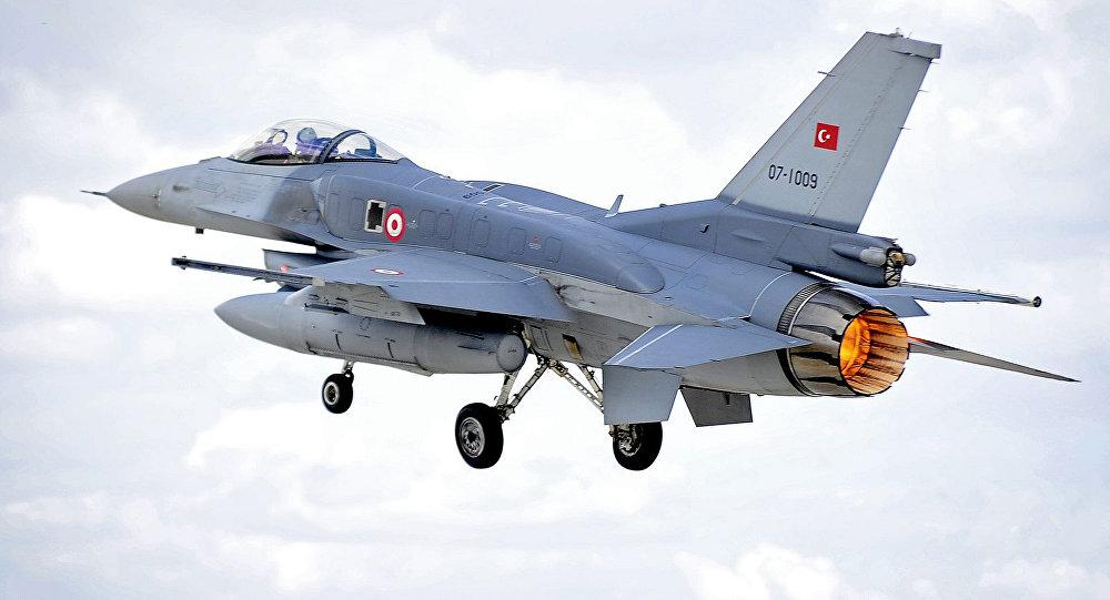تحطم مقاتلة تركية بمحافظة لواء إسكندرون