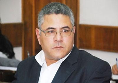 """جمال عيد يطلق هاشتاج """"متضامن مع النديم"""""""
