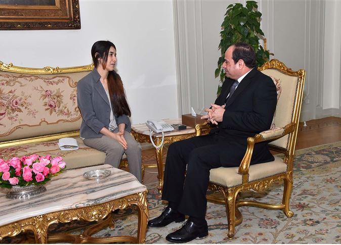 """""""نادية مراد"""": الشعب الإيزيدى يعيش إبادة جماعية"""