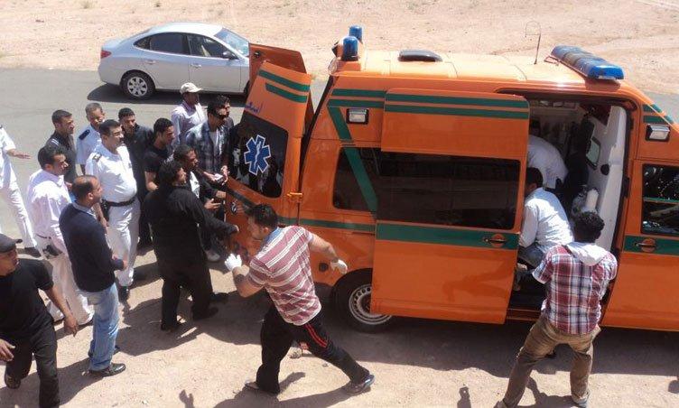 مصرع وإصابة 12 شخصًا في حادثي تصادم ببني سويف