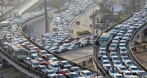علاج مصري مُبتَكر لأزمة المرور