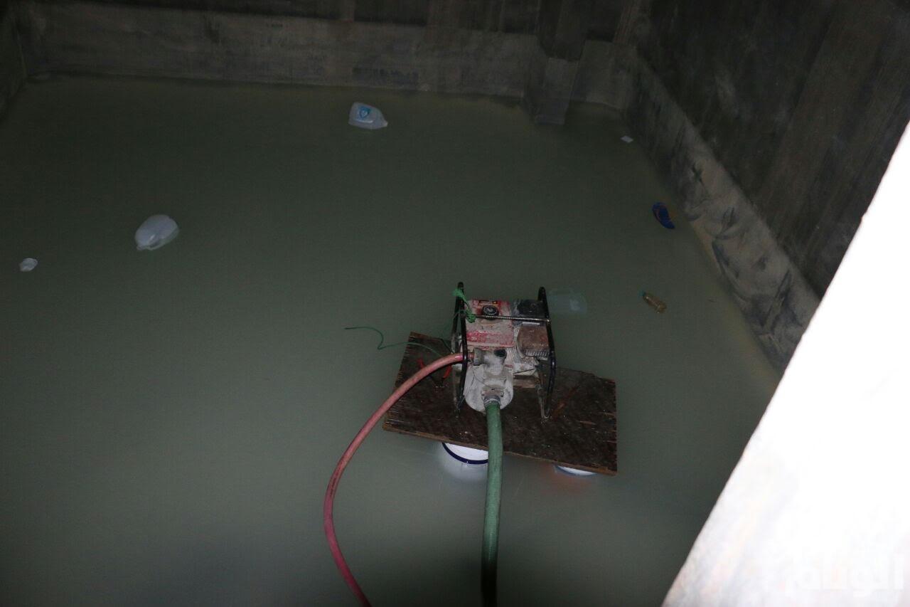 مصرع وإصابة 3 أشخاص أثناء تنظيفهم خزان مياه بالمنيا