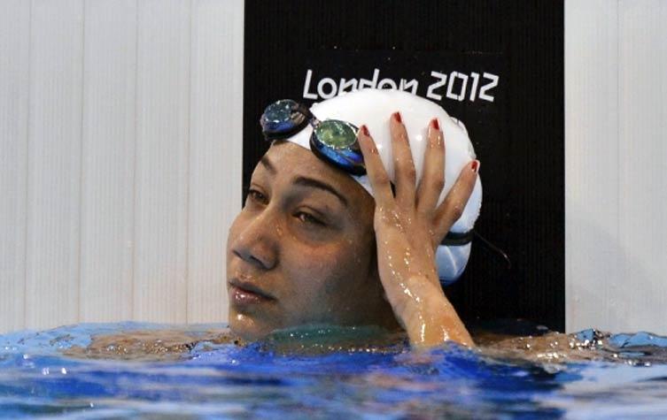 فريدة عثمان تحرز ذهبية البطولة العربية للسباحة