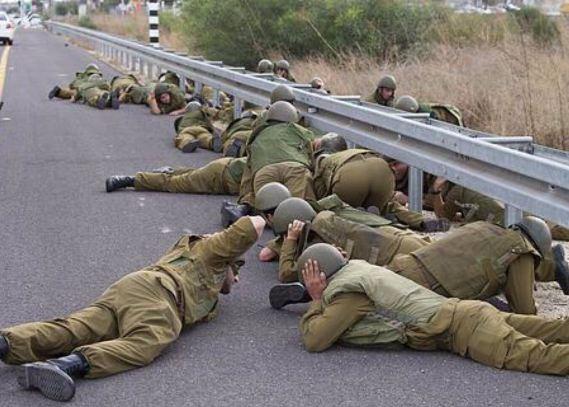 الجيش الإسرائيلي يبحث عن مخبأ